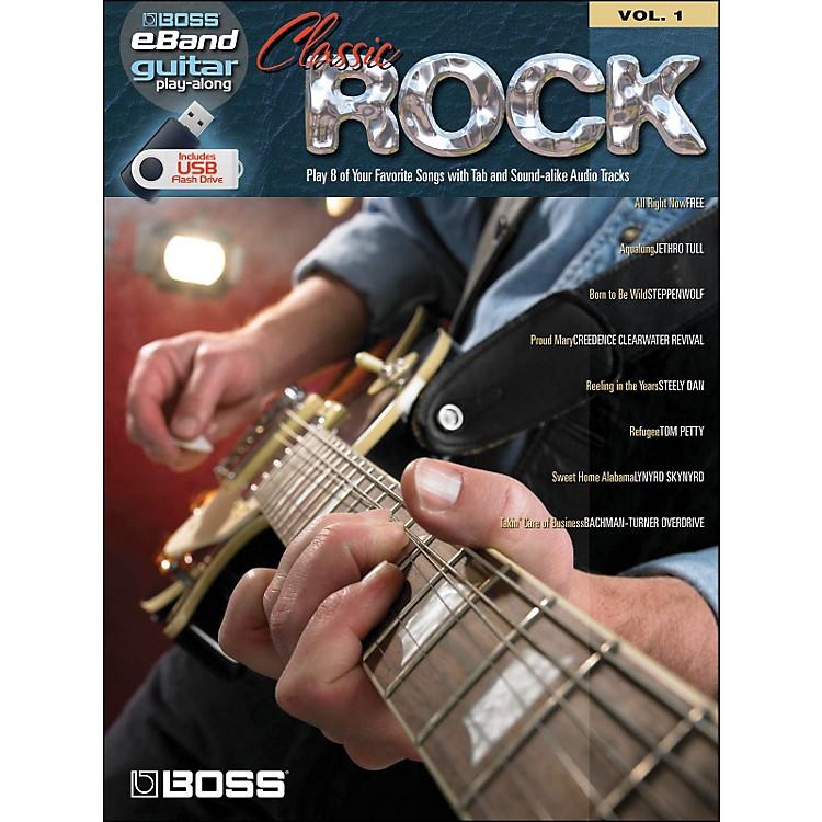 Hal LeonardClassic Rock Guitar Play-Along Volume 1 (Boss eBand Custom Book with USB Stick)