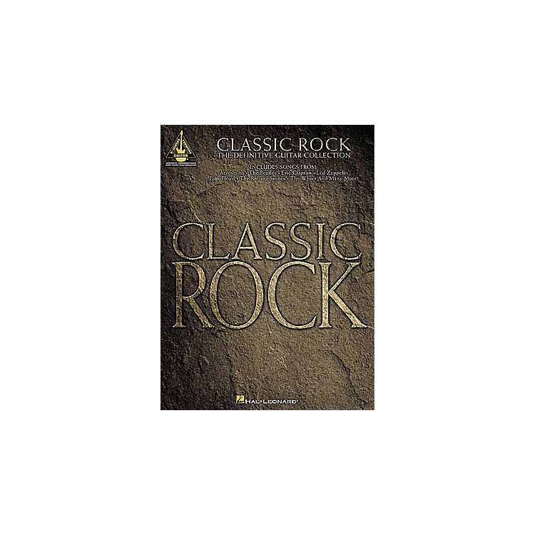 Hal LeonardClassic Rock Guitar Tab Book