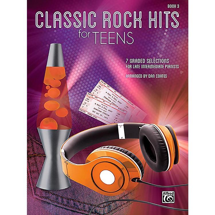 AlfredClassic Rock Hits for Teens, Book 3 Late Intermediate