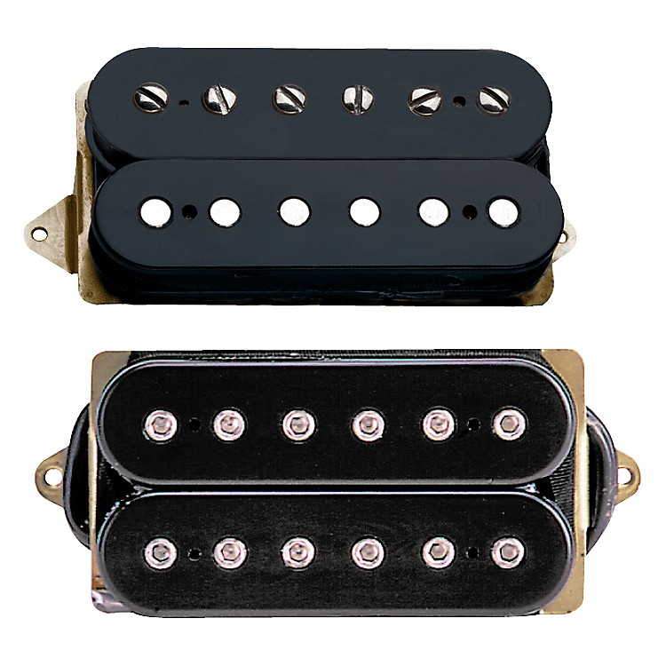 DiMarzio Classic Rock Humbucker Set Black