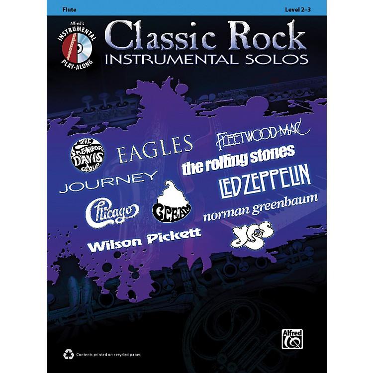 AlfredClassic Rock Instrumental Solos Flute Book & CD