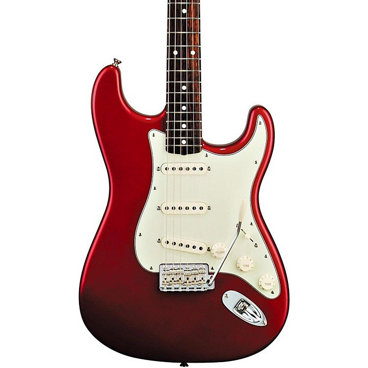 FenderClassic Series '60s Stratocaster Electric GuitarCandy Apple RedRosewood Fretboard