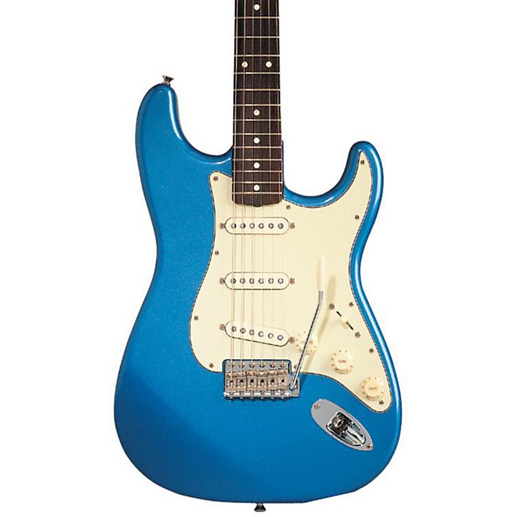 FenderClassic Series '60s Stratocaster Electric GuitarLake Placid BlueRosewood Fretboard