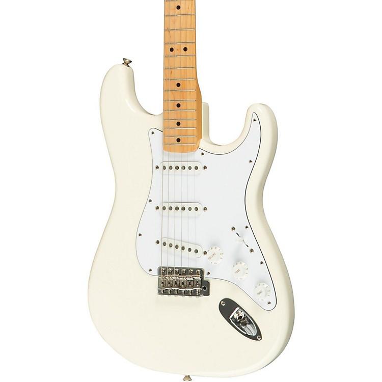 FenderClassic Series '70s Stratocaster Electric GuitarOlympic WhiteMaple Fretboard