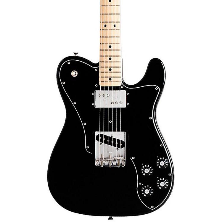 FenderClassic Series '72 Telecaster Custom Electric GuitarBlackMaple Fretboard