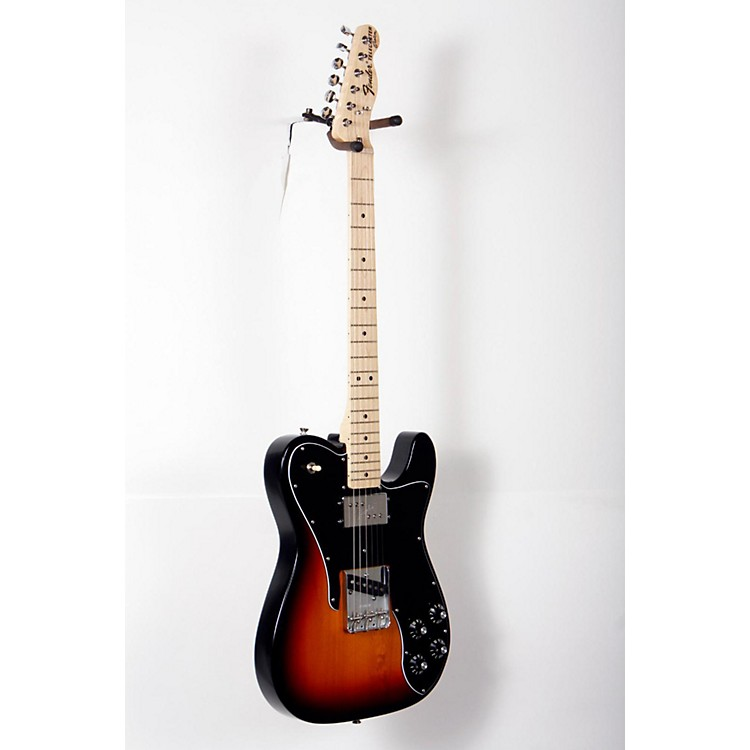 FenderClassic Series '72 Telecaster Custom Electric Guitar3-Color Sunburst, Maple Fretboard888365826943