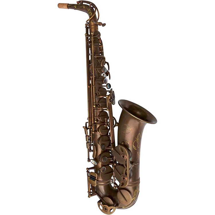 MACSAXClassic Series Alto SaxophoneVintage Bare Brass