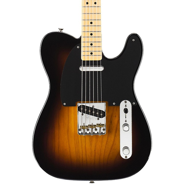 Fender Classic Series Classic Player Baja Telecaster Electric Guitar Black Maple Fingerboard