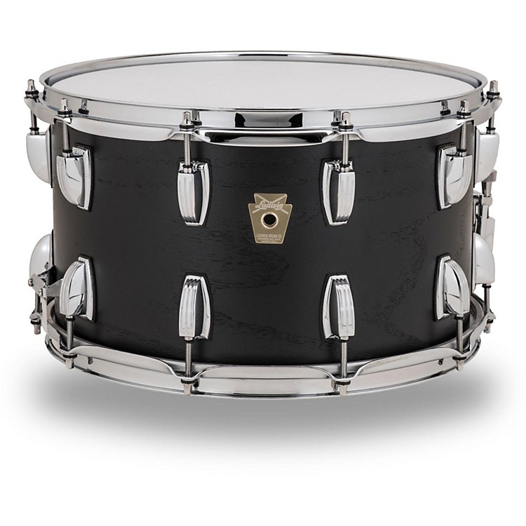 Ludwig Classic Series Hybrid Black Oak Shell Snare Drum 14 x 8 in. Black