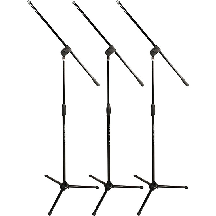 Ultimate SupportClassic Series MC-40B Microphone Stand - 3-PackBlack