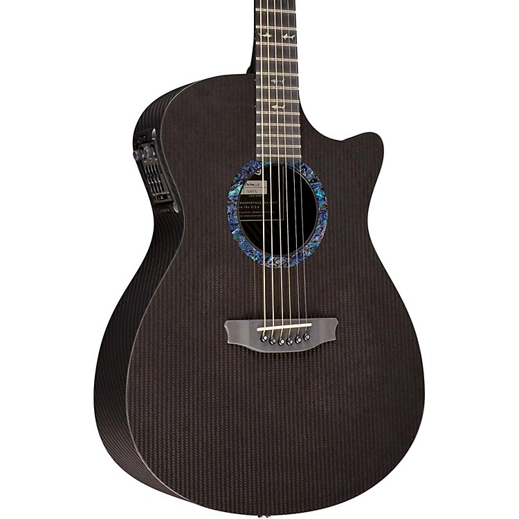 RainSongClassic Series OM1000N2 Acoustic-Electric GuitarBlack