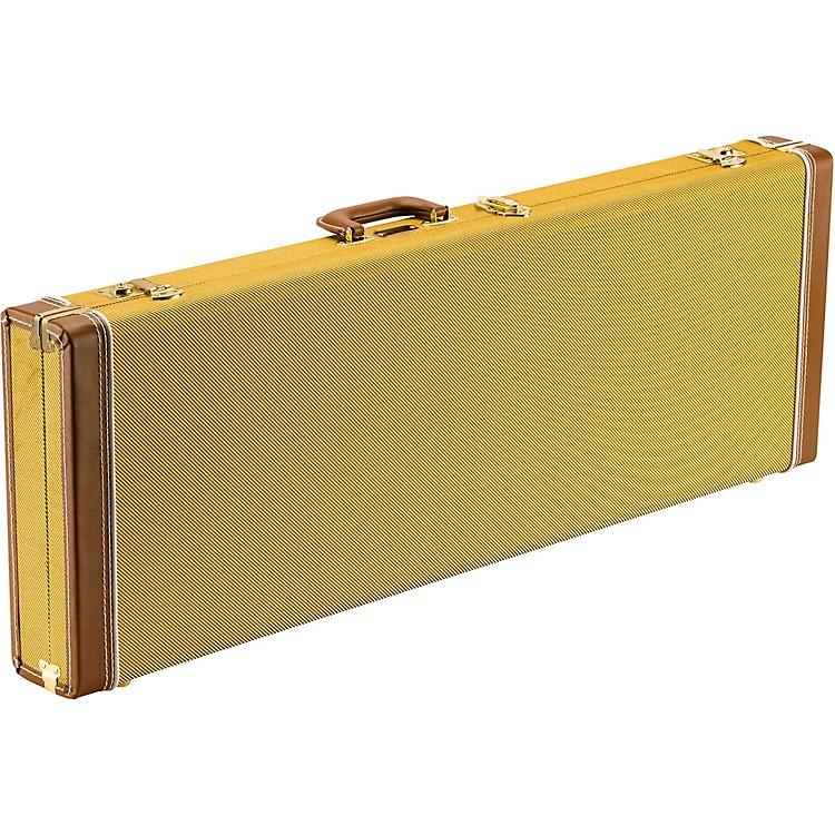 FenderClassic Series Wood Strat/Tele CaseTweedRed