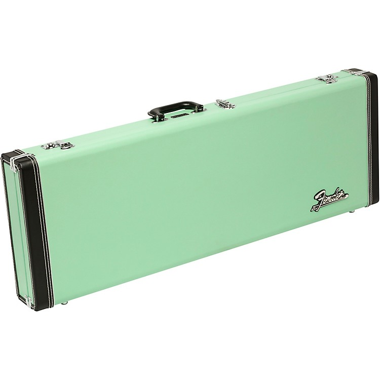 Fender Classic Series Wood Strat/Tele Limited Edition Case Surf Green