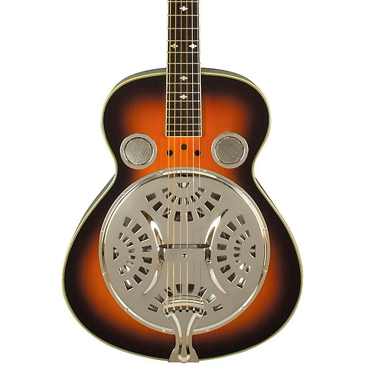 Rogue Classic Spider Resonator Sunburst Squareneck