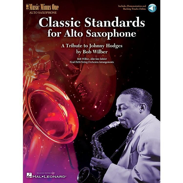 Music Minus OneClassic Standards for Alto Saxophone Music Minus One Series Book with CD Written by Bob Wilber