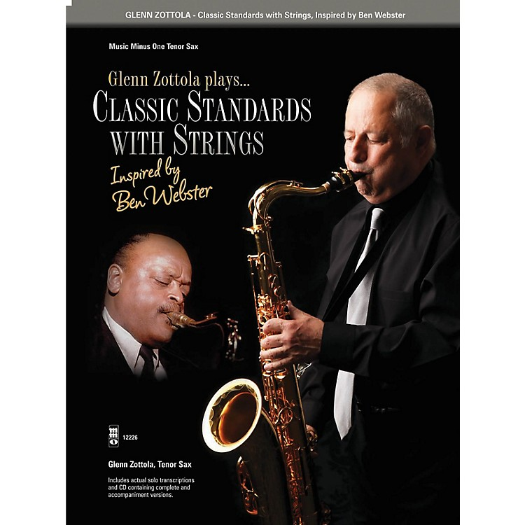 Music Minus OneClassic Standards with Strings Music Minus One Series Book with CD Performed by Glenn Zottola