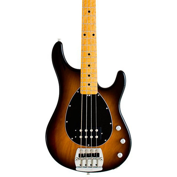 Ernie Ball Music Man Classic Sterling 4 Electric Bass Guitar Tobacco Burst Maple Fretboard with Birdseye Maple Neck