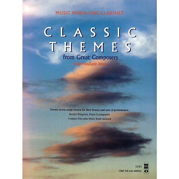 Music Minus OneClassic Themes from Great Composers (Beginning Level) Music Minus One Series BK/CD