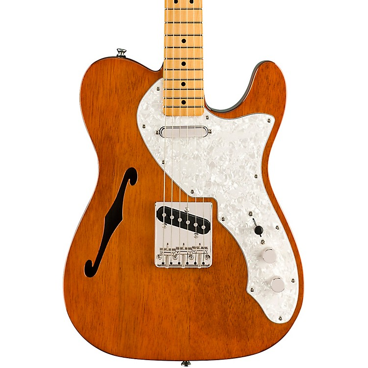 Squier Classic Vibe '60s Telecaster Thinline Electric Guitar Natural