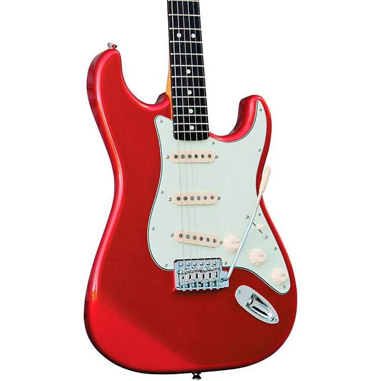 Squier Classic Vibe Stratocaster '50s Electric Guitar Fiesta Red