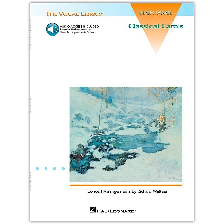 Hal LeonardClassical Carols for High Voice (Book/Online Audio)