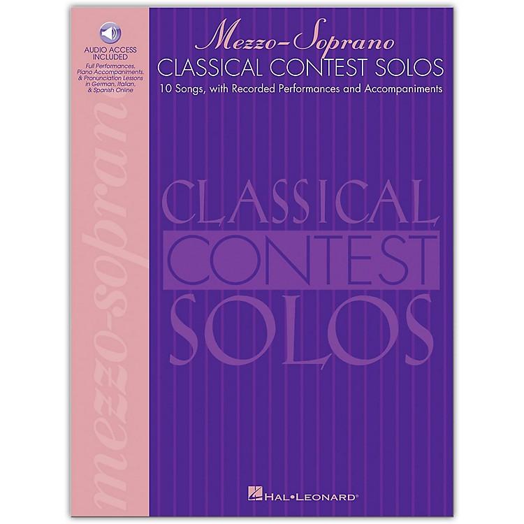 Hal LeonardClassical Contest Solos for Mezzo Soprano (Book/Online Audio)