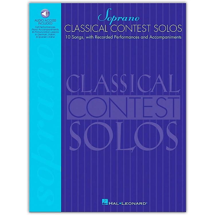 Hal LeonardClassical Contest Solos for Soprano (Book/Online Audio)