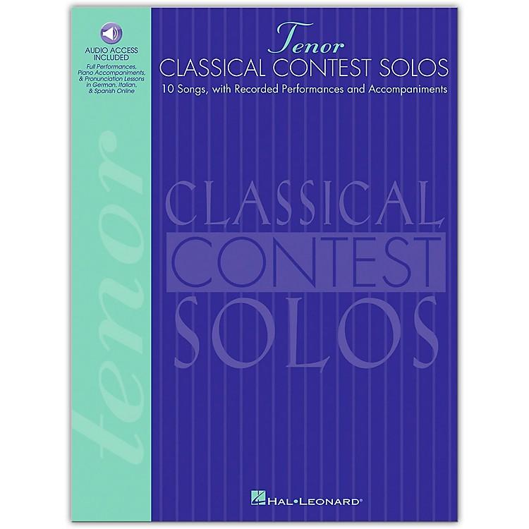 Hal LeonardClassical Contest Solos for Tenor Voice (Book/Online Audio)
