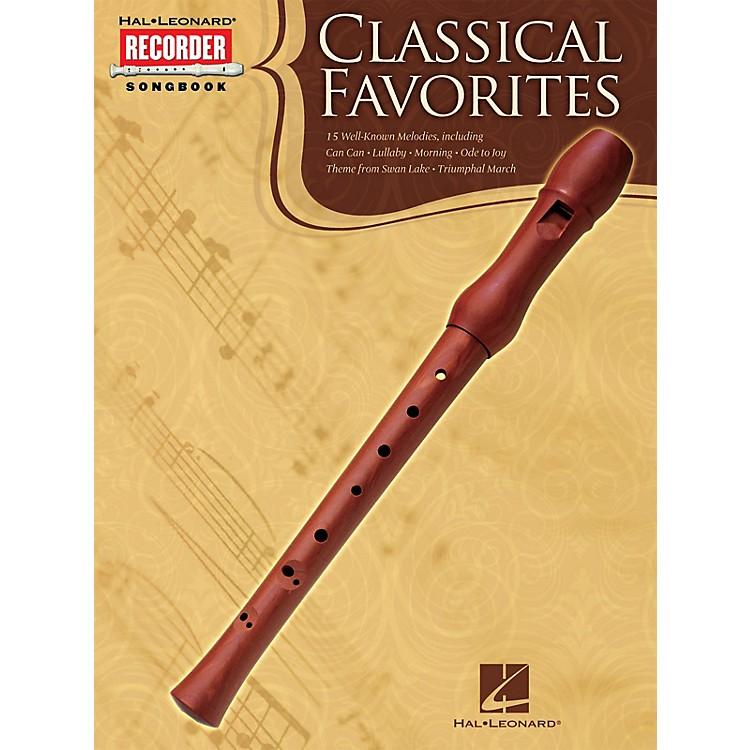 Hal LeonardClassical Favorites (Hal Leonard Recorder Songbook) Recorder Series Softcover
