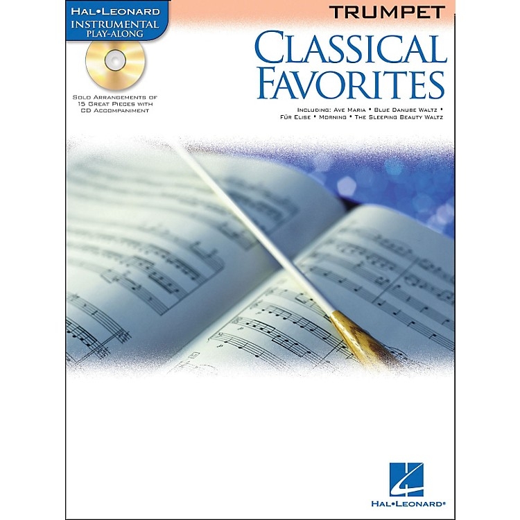 Hal Leonard Classical Favorites Trumpet Book/CD Instrumental Play-Along