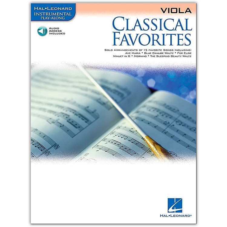 Hal LeonardClassical Favorites Viola - Instrumental Play-Along (Book/Online Audio)