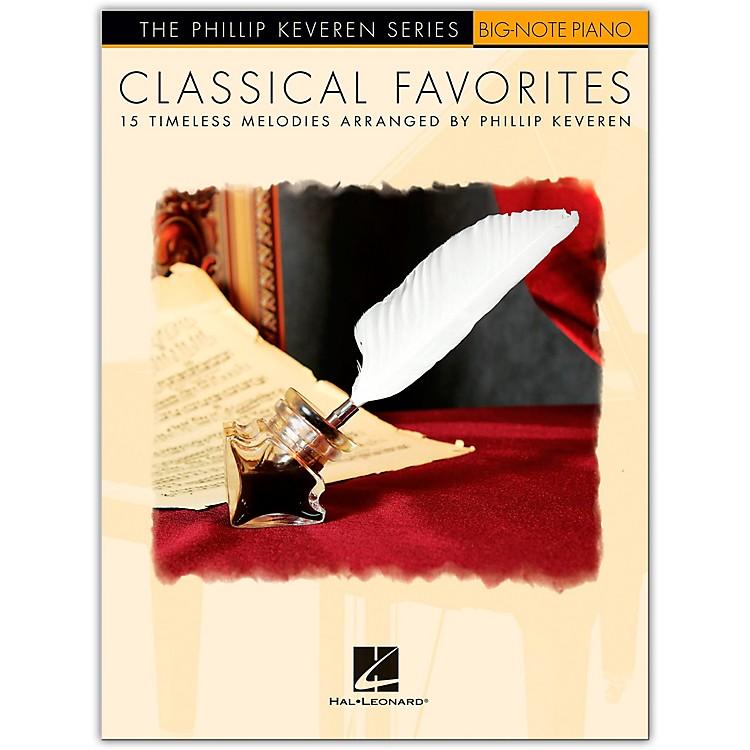 Hal LeonardClassical Favorites for Big-Note Piano - The Phillip Keveren Series