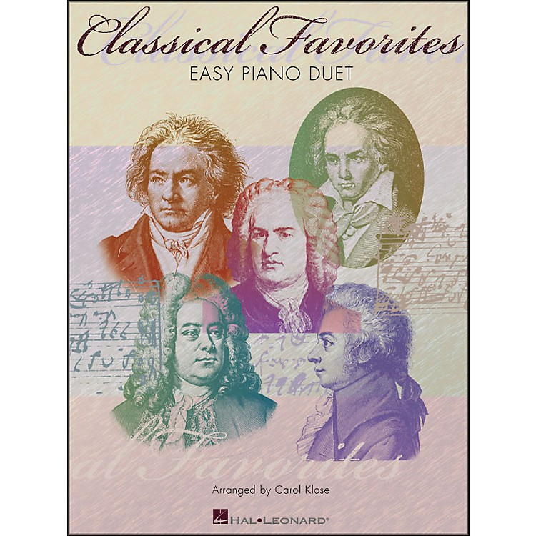 Hal LeonardClassical Favorites for Easy Piano Duet