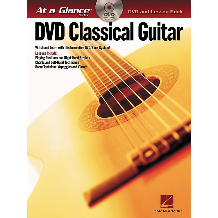 Hal LeonardClassical Guitar - At A Glance (Book/DVD)