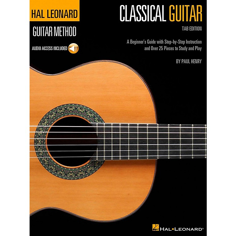 Hal LeonardClassical Guitar - Hal Leonard Guitar Method Series (Book/Online Audio) Tab Edition