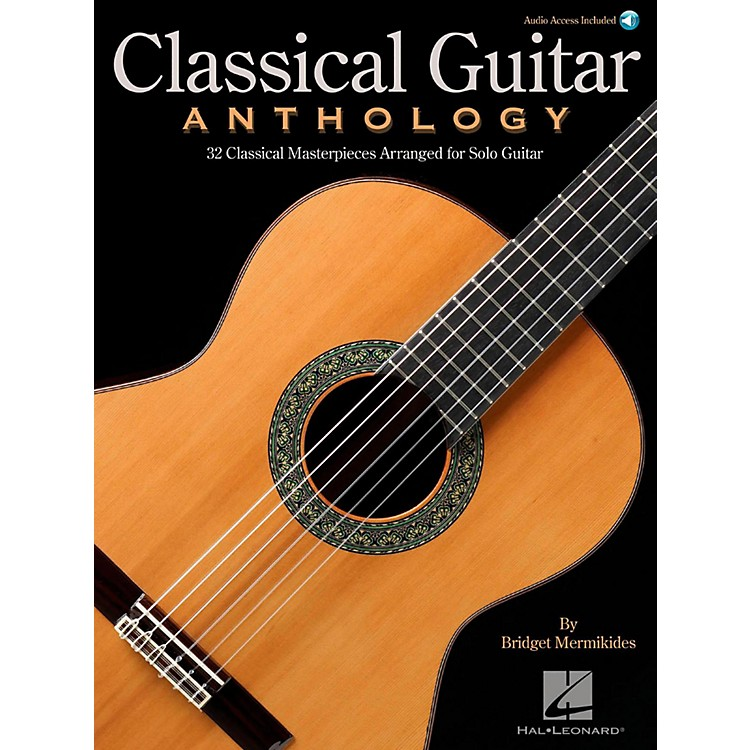 Hal LeonardClassical Guitar Anthology - Classical Masterpieces arranged for Solo Guitar (Book/Audio)