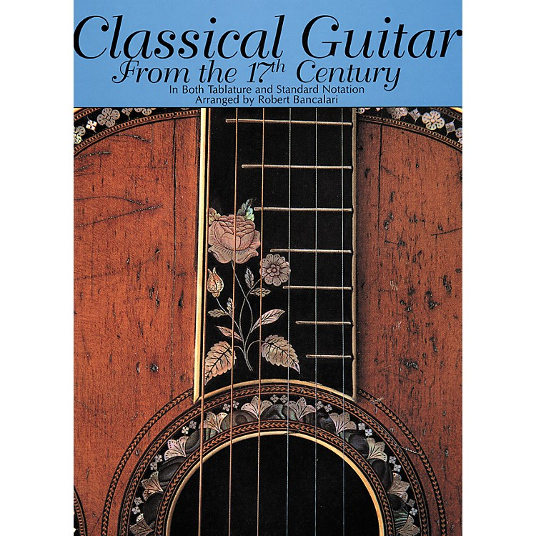 Creative Concepts Classical Guitar From the 17th Century Book