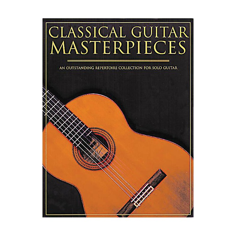 Music SalesClassical Guitar Masterpieces Music Sales America Series Softcover