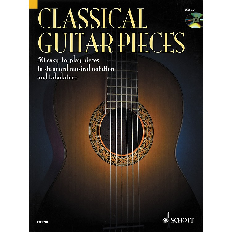 SchottClassical Guitar Pieces in Tab & Notation Book with CD