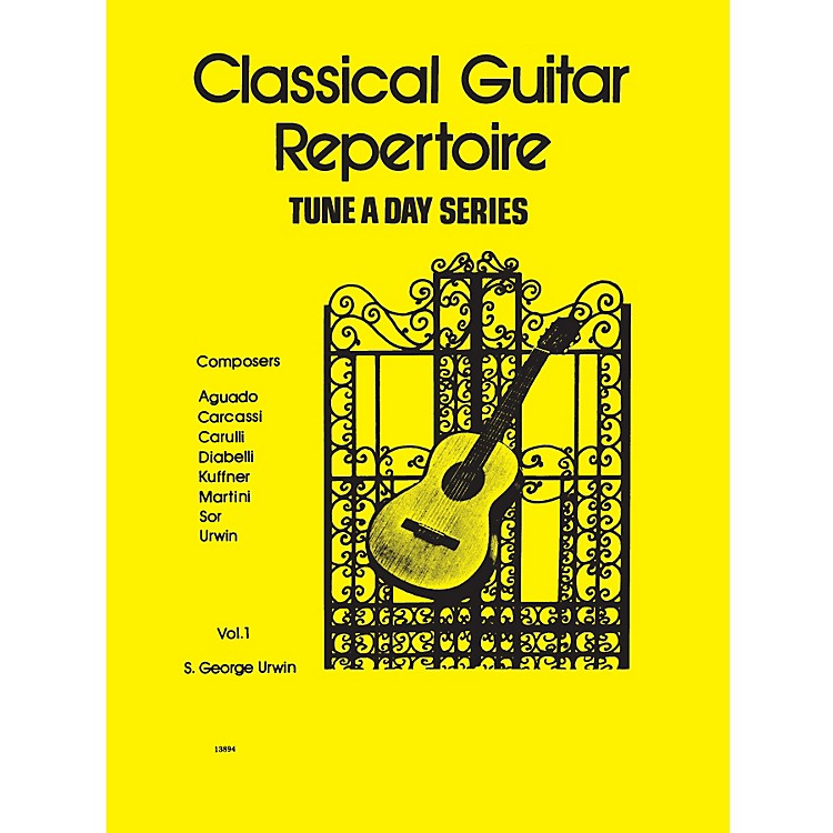 Hal LeonardClassical Guitar Repertoire (Tune a Day Series) Music Sales America Series Softcover