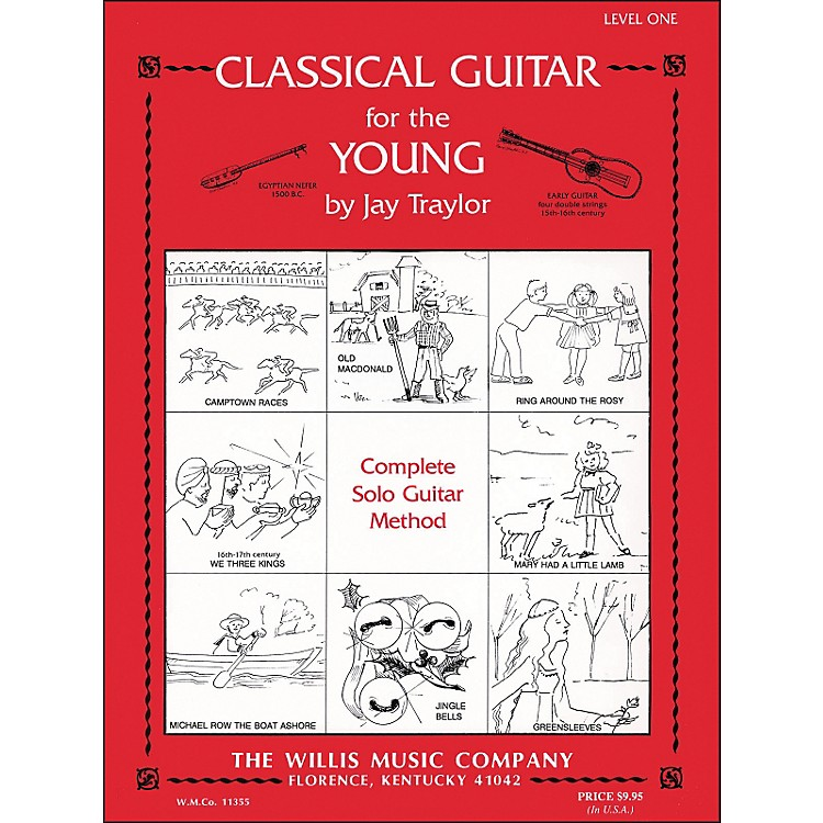 Willis MusicClassical Guitar for The Young Level One