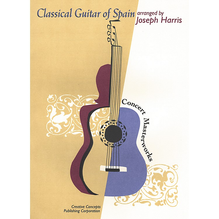 Creative ConceptsClassical Guitar of Spain Book
