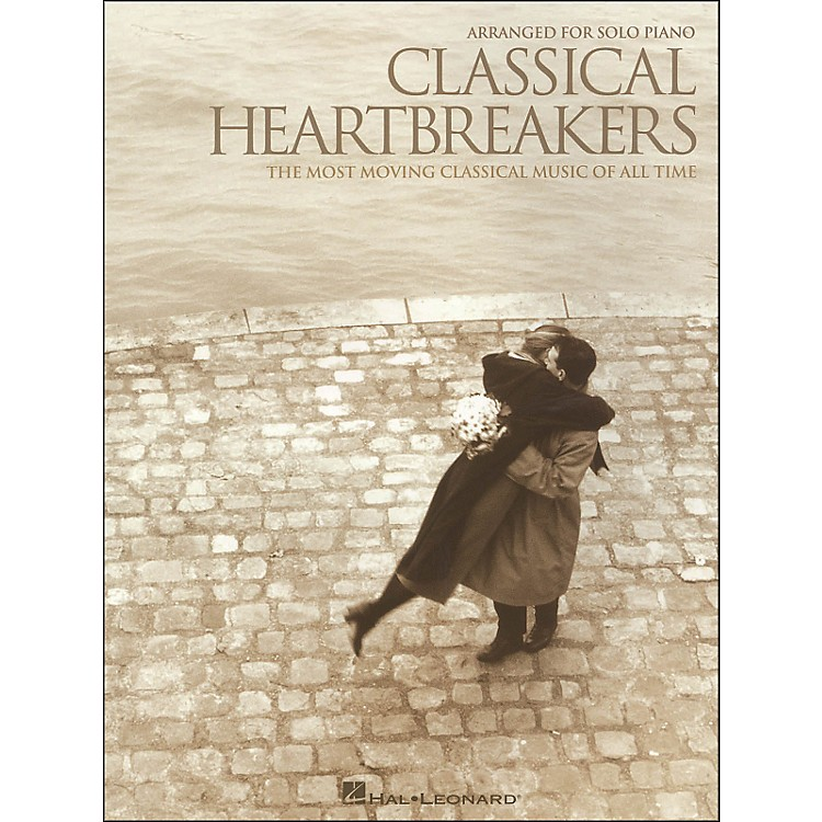 Hal LeonardClassical Heartbreakers - The Most Moving Classical Music Of All Time arranged for piano solo