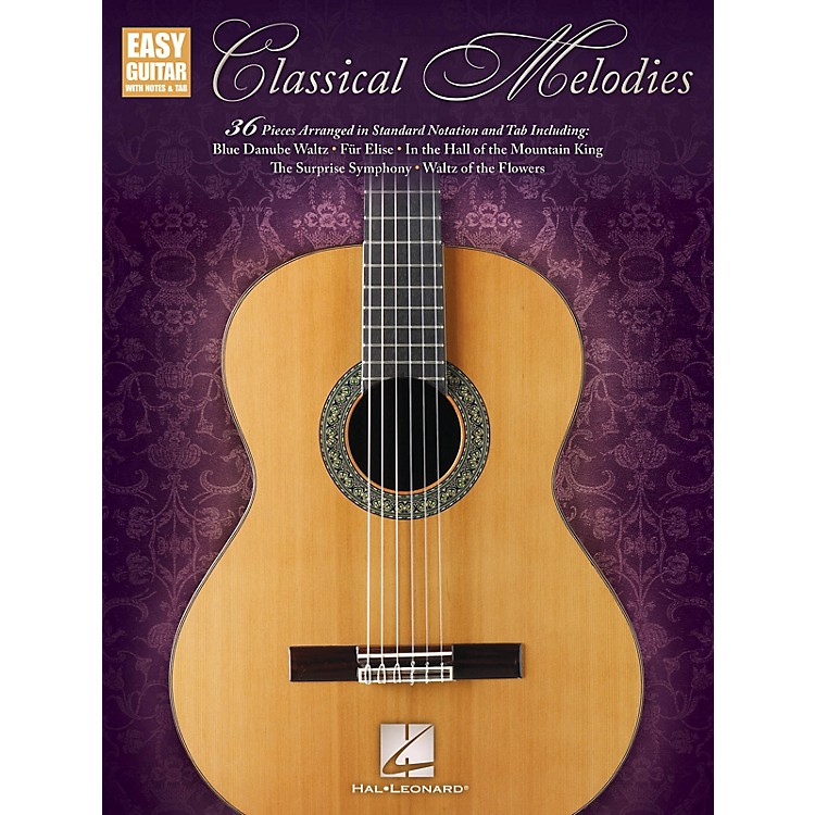 Hal LeonardClassical Melodies (Easy Guitar with Notes & Tab) Easy Guitar Series Softcover