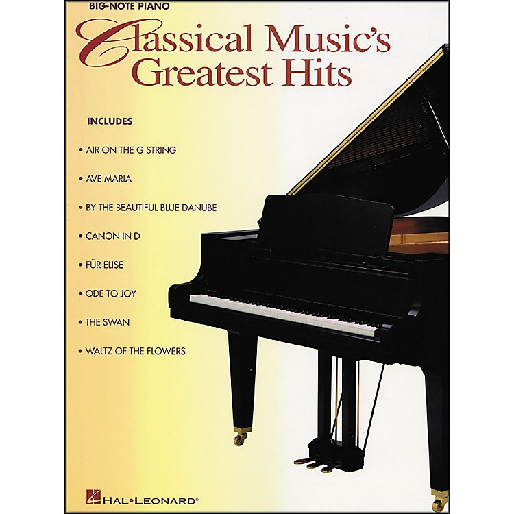 Hal LeonardClassical Music Greatest Hits for Big Note Piano