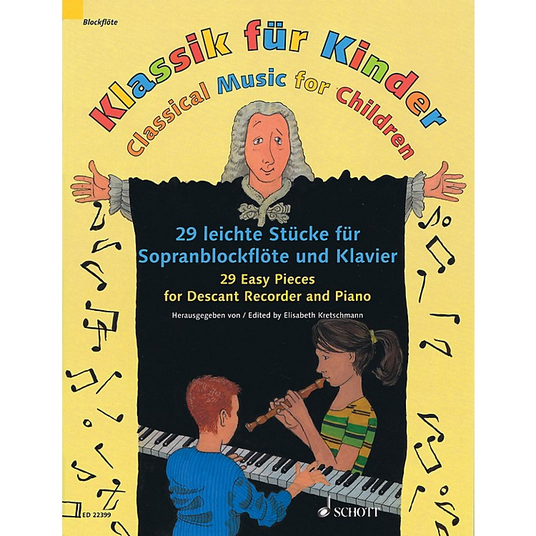 Schott Classical Music for Children Woodwind Solo Series Softcover