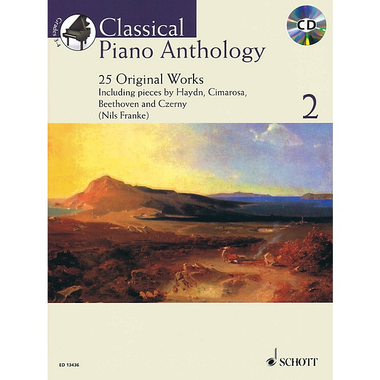 SchottClassical Piano Anthology, Vol. 2 Schott Softcover with CD Composed by Various Edited by Nils Franke