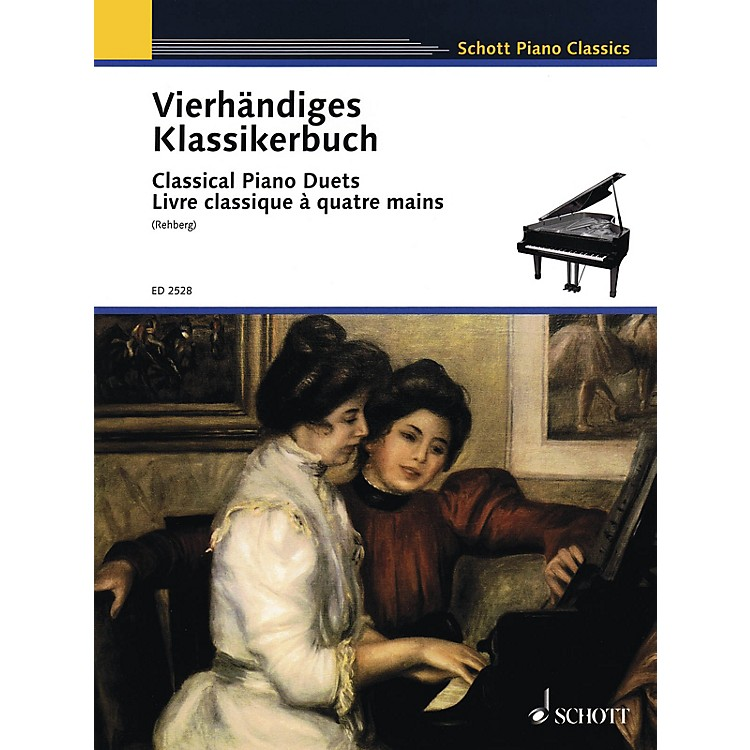 SchottClassical Piano Duets (Easy Original Piano Duets) Schott Series
