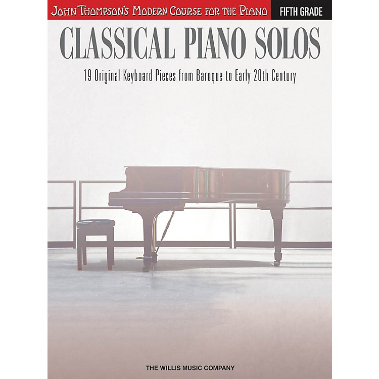 Willis MusicClassical Piano Solos - Fifth Grade Willis Series Book by Various (Level Advanced)