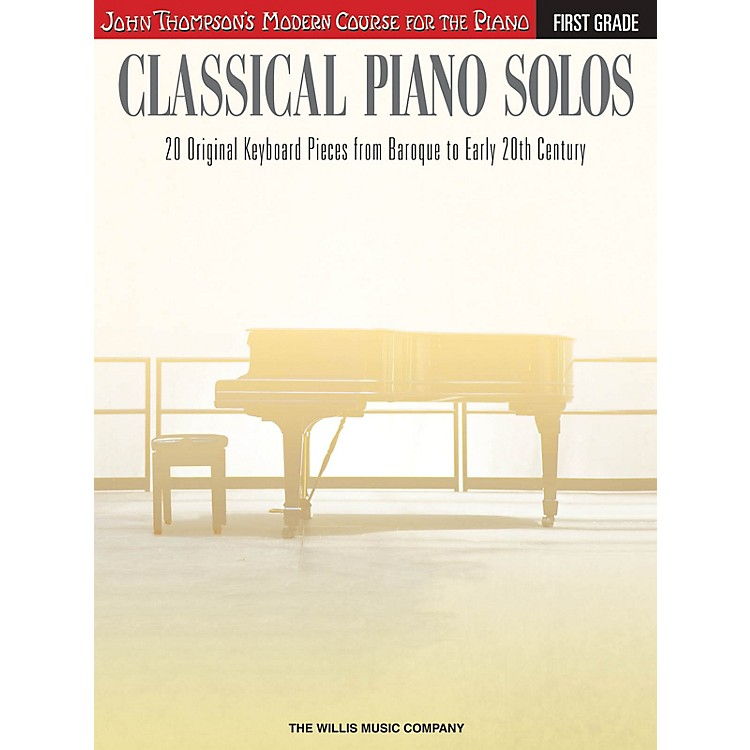 Willis MusicClassical Piano Solos - First Grade Willis Series Book by Various (Level Early to Later Elem)